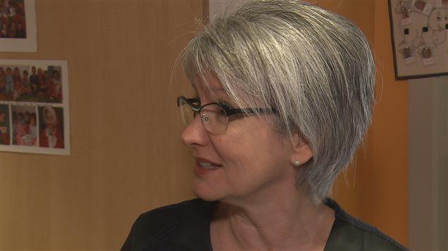 Sylvie Provencher, directrice générale par intérim du Regroupement des CPE des régions de Québec et de Chaudière-Appalaches