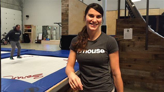 La gérante du Airhouse, Amélie Whissell