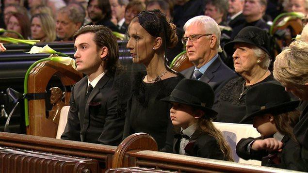 Céline Dion et ses enfants