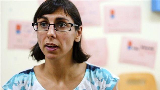 Iliana Montauk, directrice de Gaza Sky Geeks