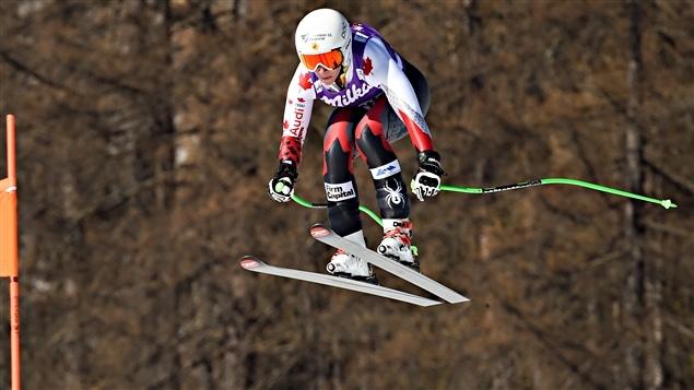 Larisa Yurkiw à Cortina d'Ampezzo