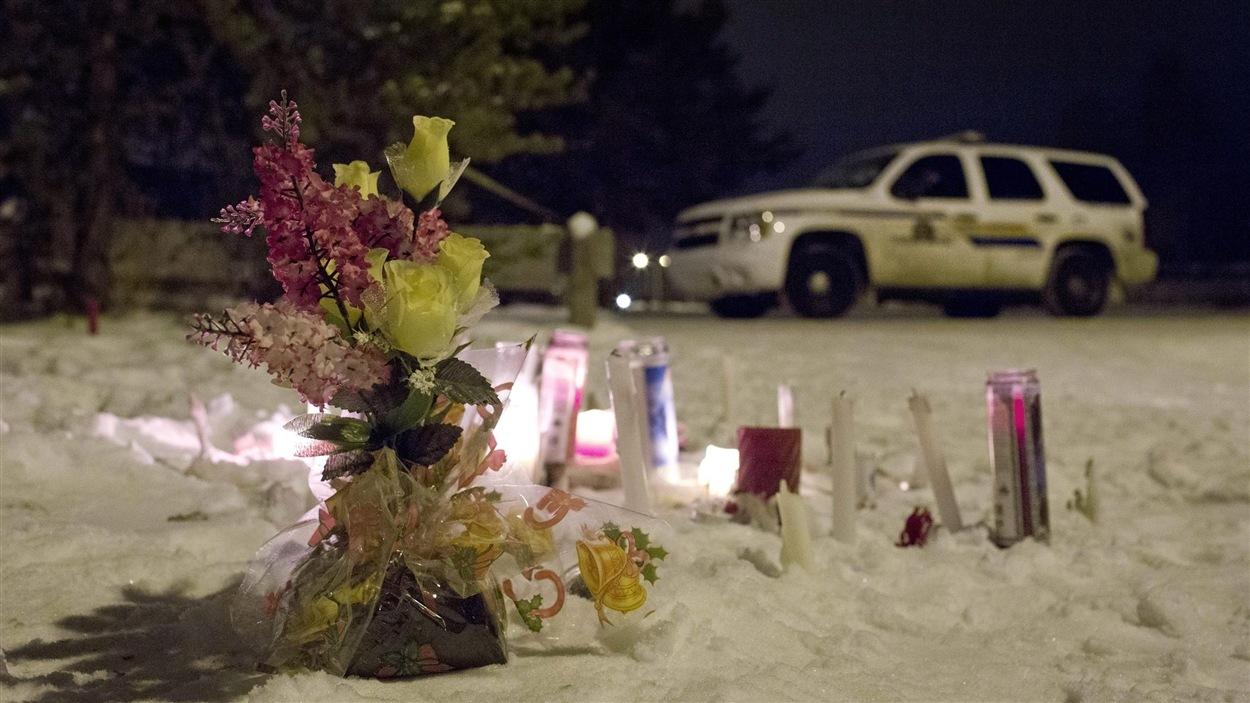 La douleur est encore vive dans la petite communauté frappée par la tragédie.
