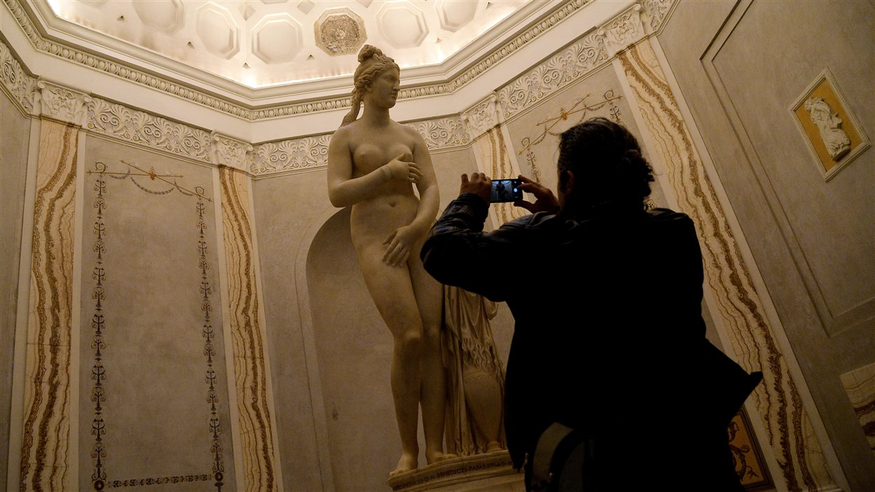 Un Vénus au musée du Capitole à Rome