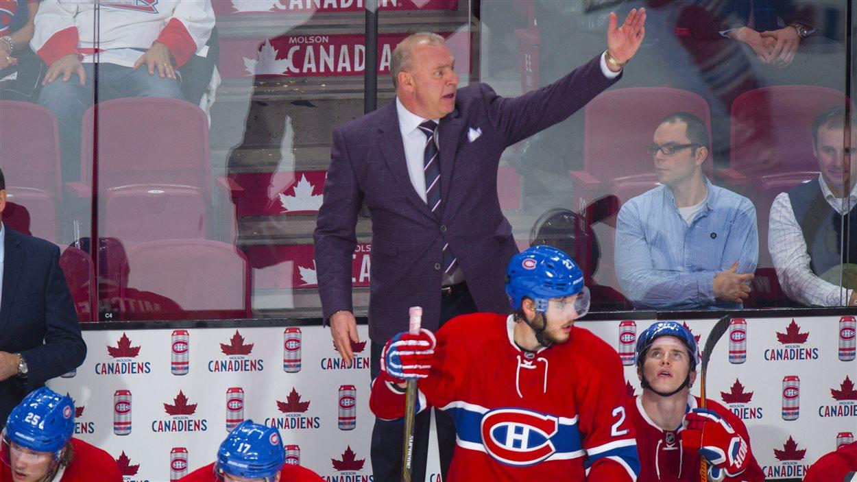 L'entraîneur-chef du Canadien, Michel Therrien
