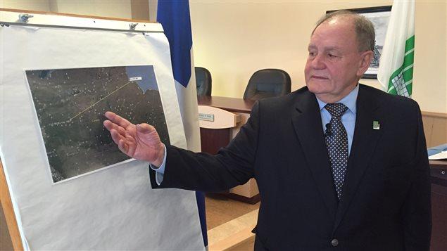 Guy Charbonneau, maire de Sainte-Anne-des-Plaines