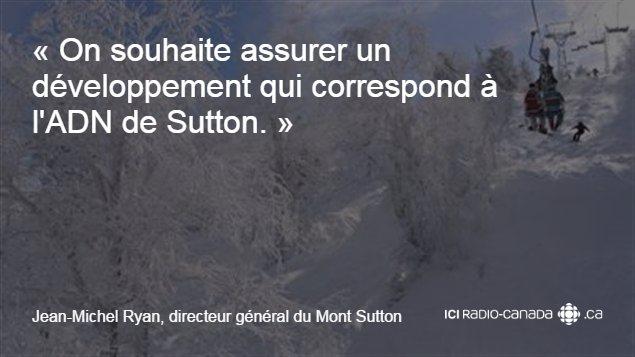 On souhaite assurer un développement qui correspond à l'ADN de Sutton.