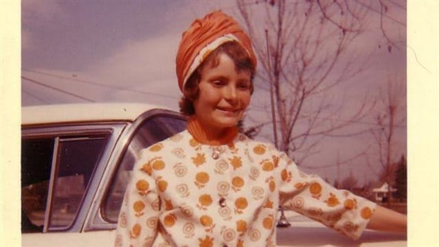 Russell Alldread, alias Michelle DuBarry, à 13 ans