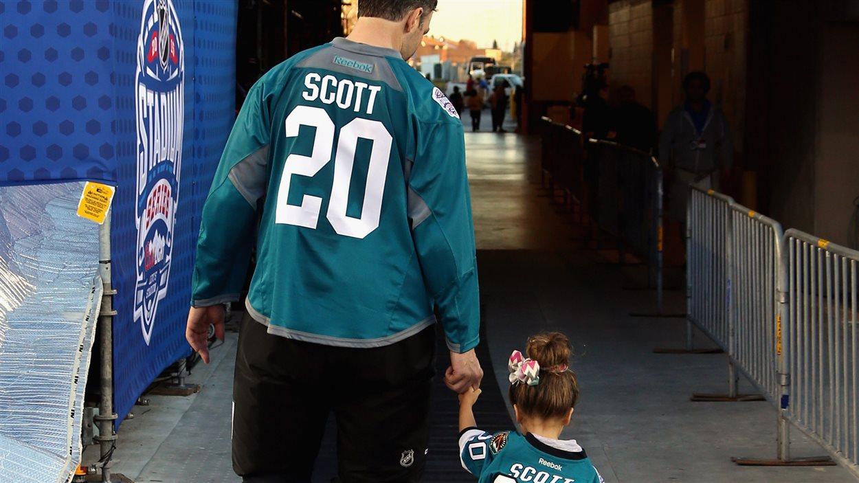 John Scott et sa fille