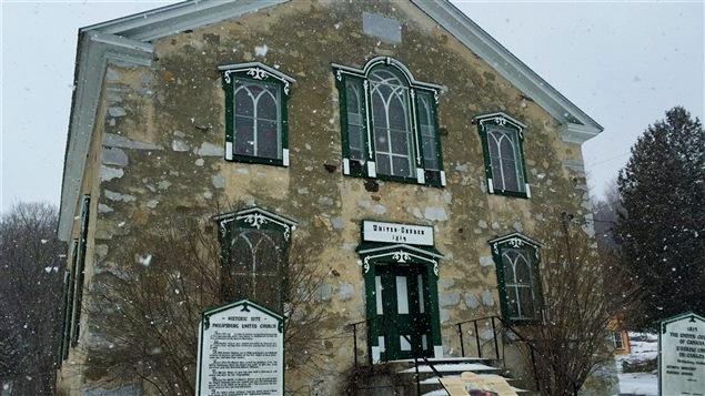 Cette vieille église de Saint-Armand a servi de refuge aux Noirs qui fuyaient les États-Unis et l'esclavagisme, durant les années 1800.