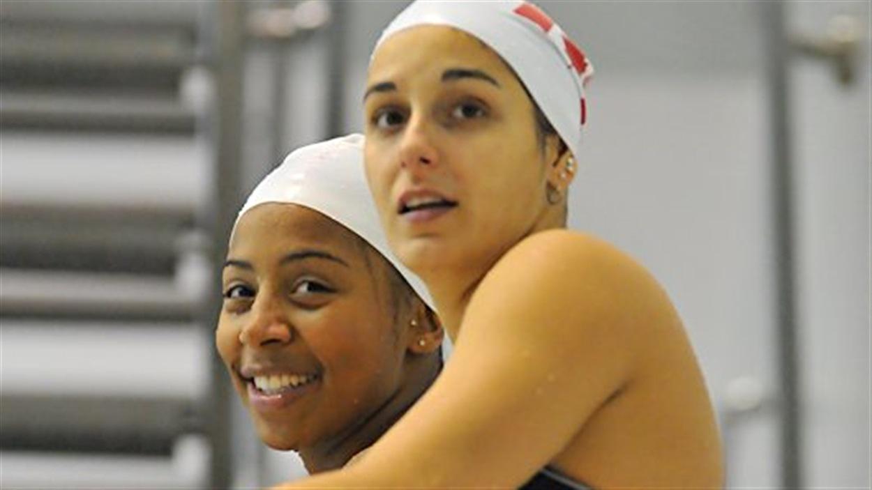 Jennifer Abel et Pamela Ware
