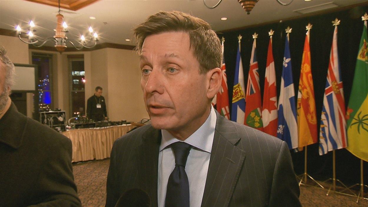Le nouveau ministre de l'Éducation et de l'Enseignement supérieur Pierre Moreau.