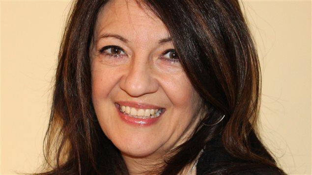 L'auteure Brigitte Trudel