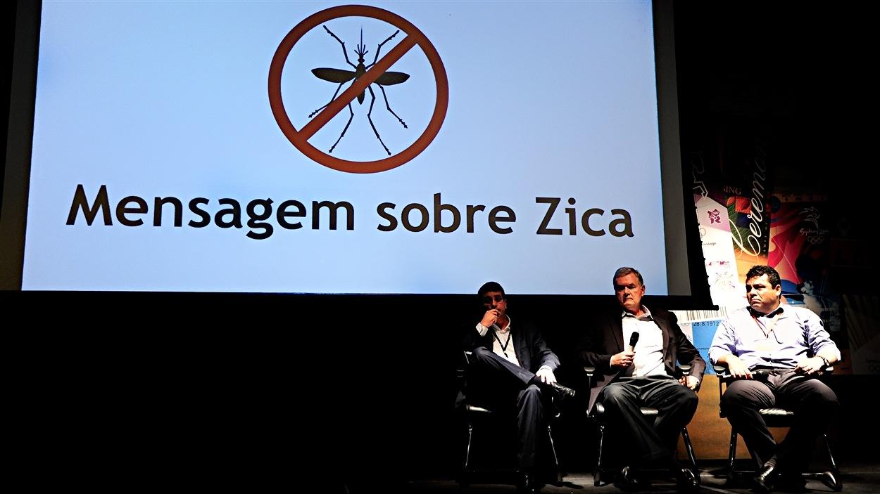 La conférence de presse des organisateurs de Rio 2016, à 6 mois des Jeux