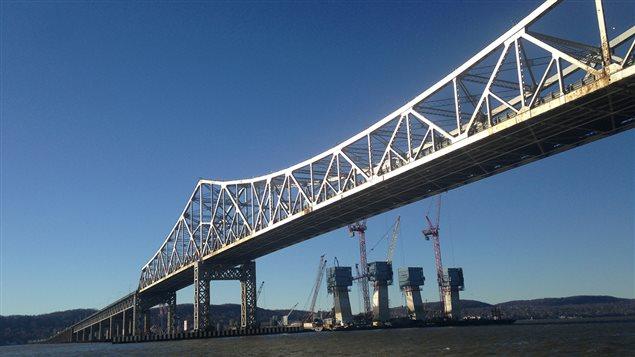 Le pont Tappan Zee sur l'Hudson