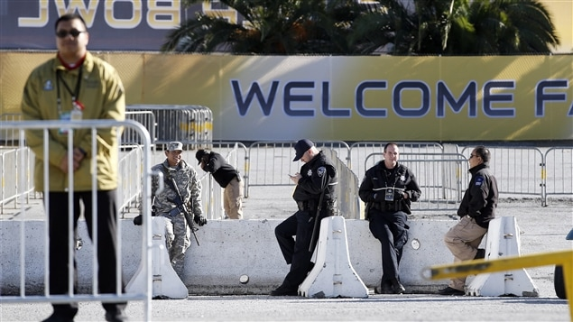 Des policiers et un militaire déployés à San Francisco