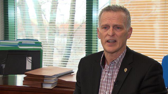 Pierre Veilleux, président de l'Association des policiers et policières du Québec