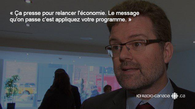 Le maire de Gatineau, Maxime Pedneaud-Jobin.