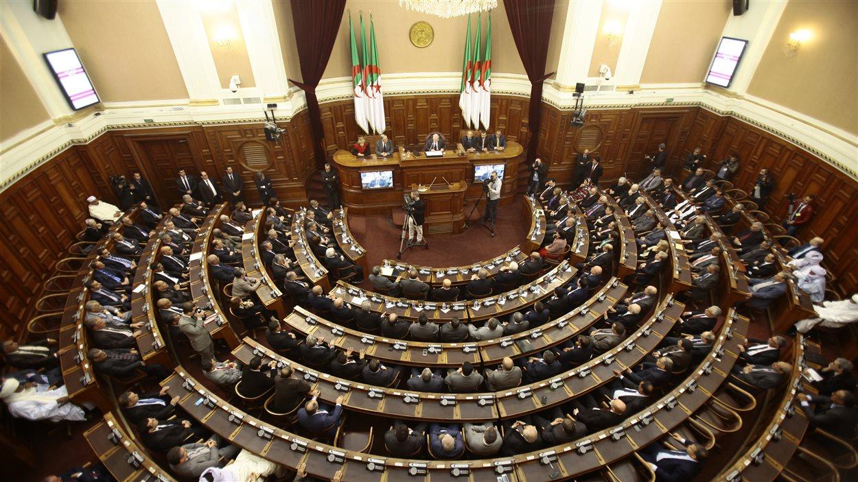 La Chambre haute du parlement algérien.