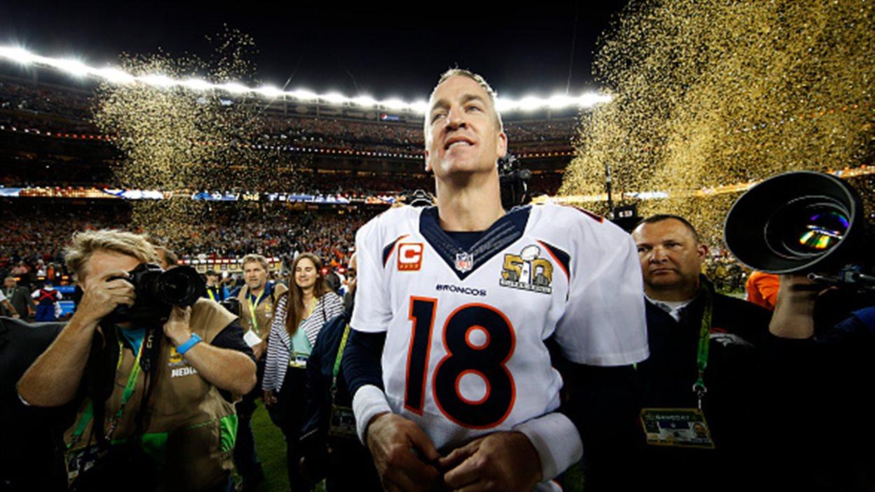Peyton Manning après le match