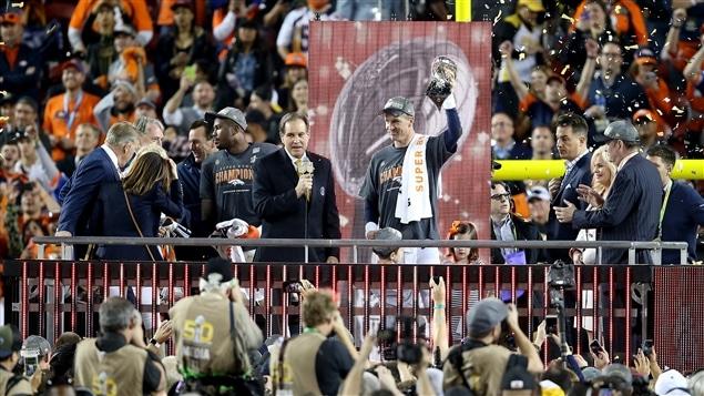 Les Broncos de Denver, champions du Super Bowl 50.