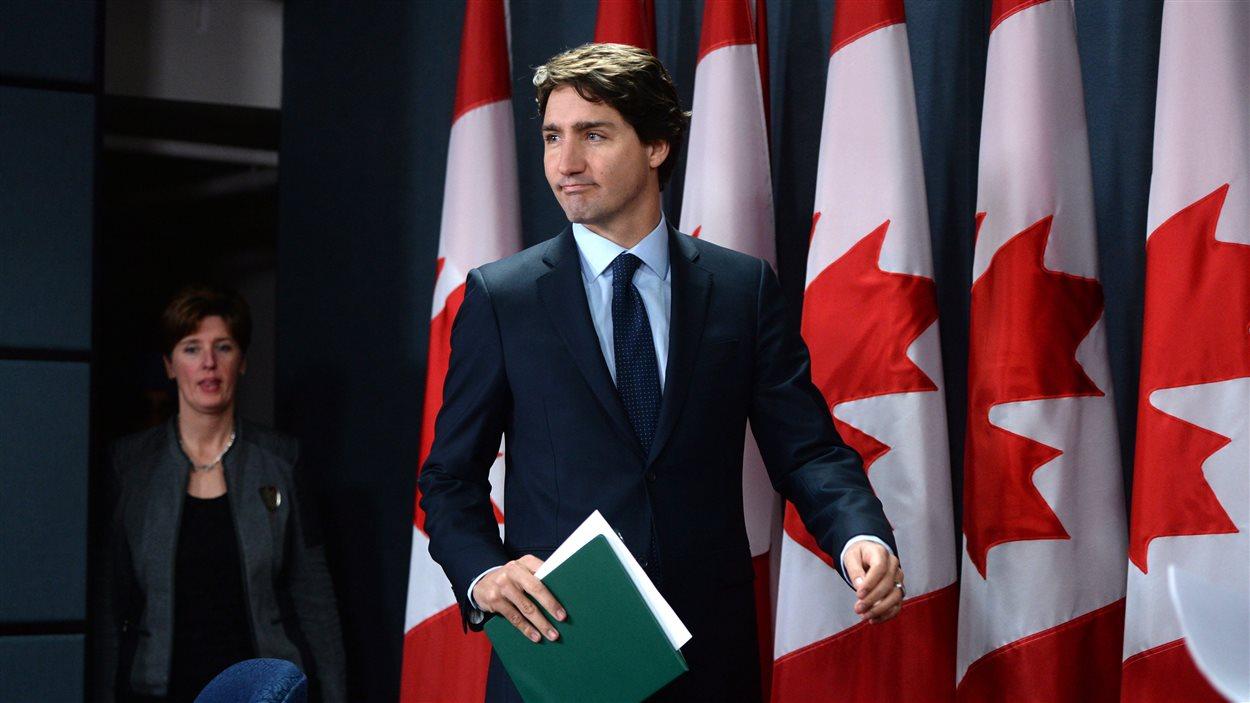 Justin Trudeau annonce son plan de lutte contre l'État islamique.
