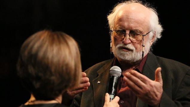 Le prix de la Personnalité de l'année dans la catégorie Engagement social/bénévolat a été remis à Jean-Paul Perreault.