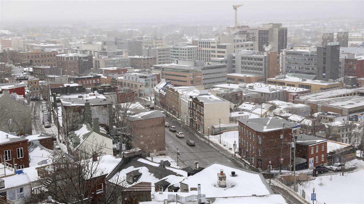 La Ville de Québec en hiver