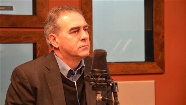 Marcel Groleau, président de l'UPA