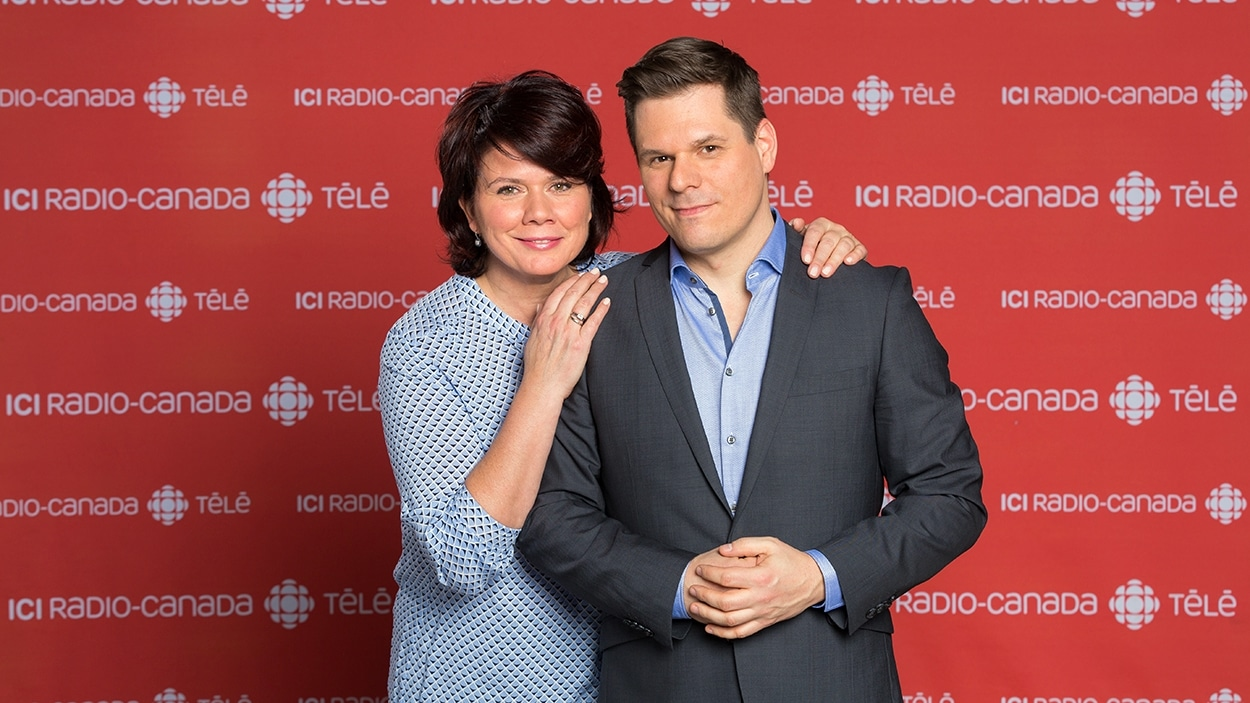 Marina Orsini et Patrick Lagacé