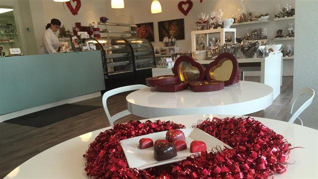La chocolaterie Constance Popp, à Winnipeg