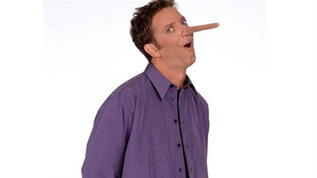 Patrice L'Ecuyer, animateur des «Détecteurs de mensonges»