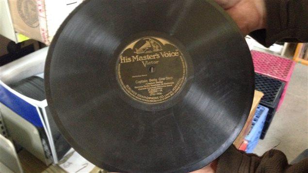 Un ancien vinyle