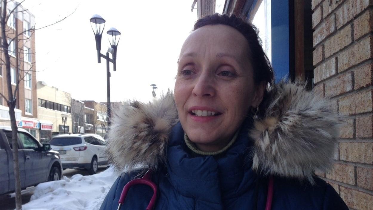 Dr Louise Perreault, pédiatre et directrice du département de pédiatrie de l'Abitibi-Témiscamingue