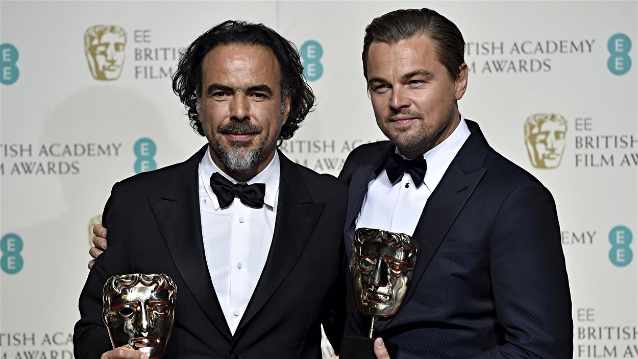 Alejandro González Iñárritu et Leonardo DiCaprio