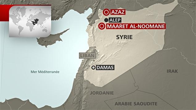 Des hôpitaux ont été bombardés dans le nord de la Syrie.