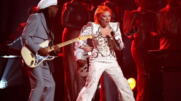 Nile Rodgers et Lady Gaga