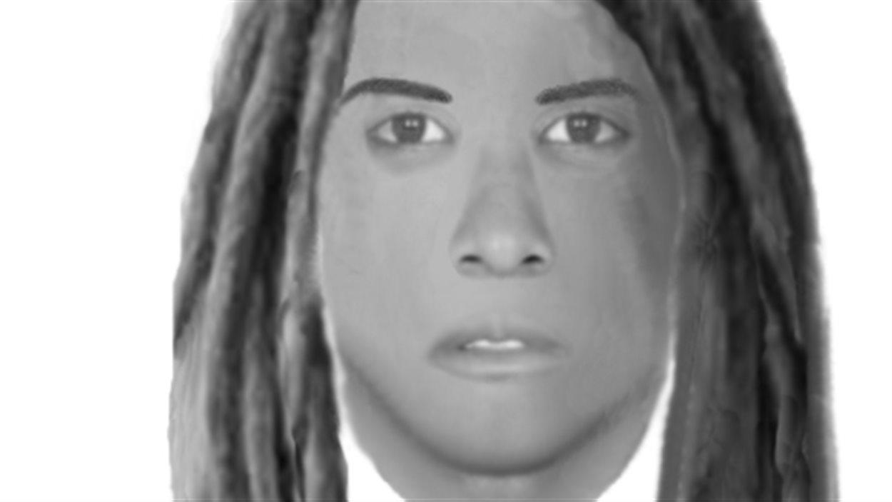 Portrait-robot de l'agresseur d'une dame de 74 ans.