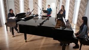 Prestation des 4 virtuoses