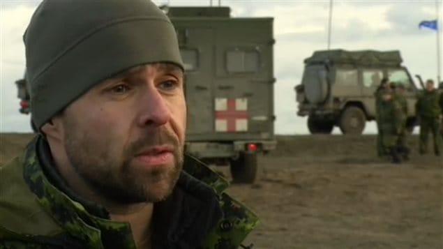 Le sergent Yann Gauthier
