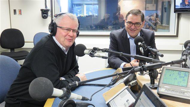 Phil Desgagné et Gilles Courteau