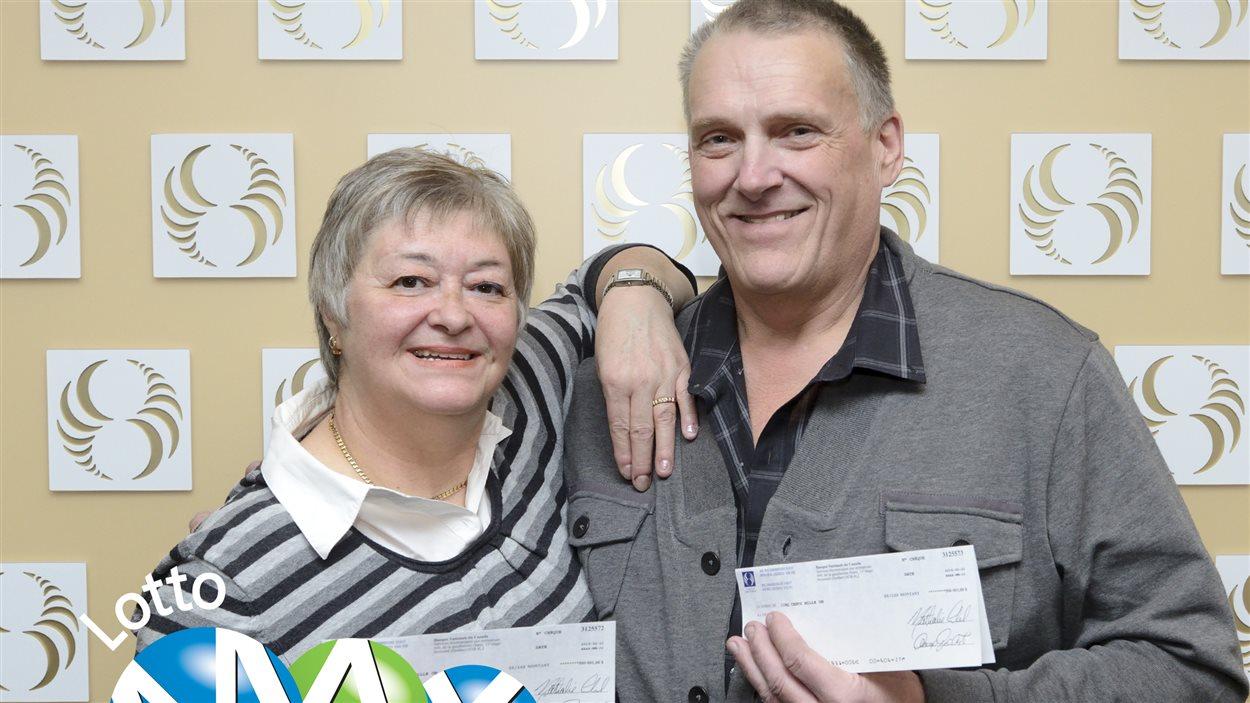 Les heureux gagnants de Lotto Max.