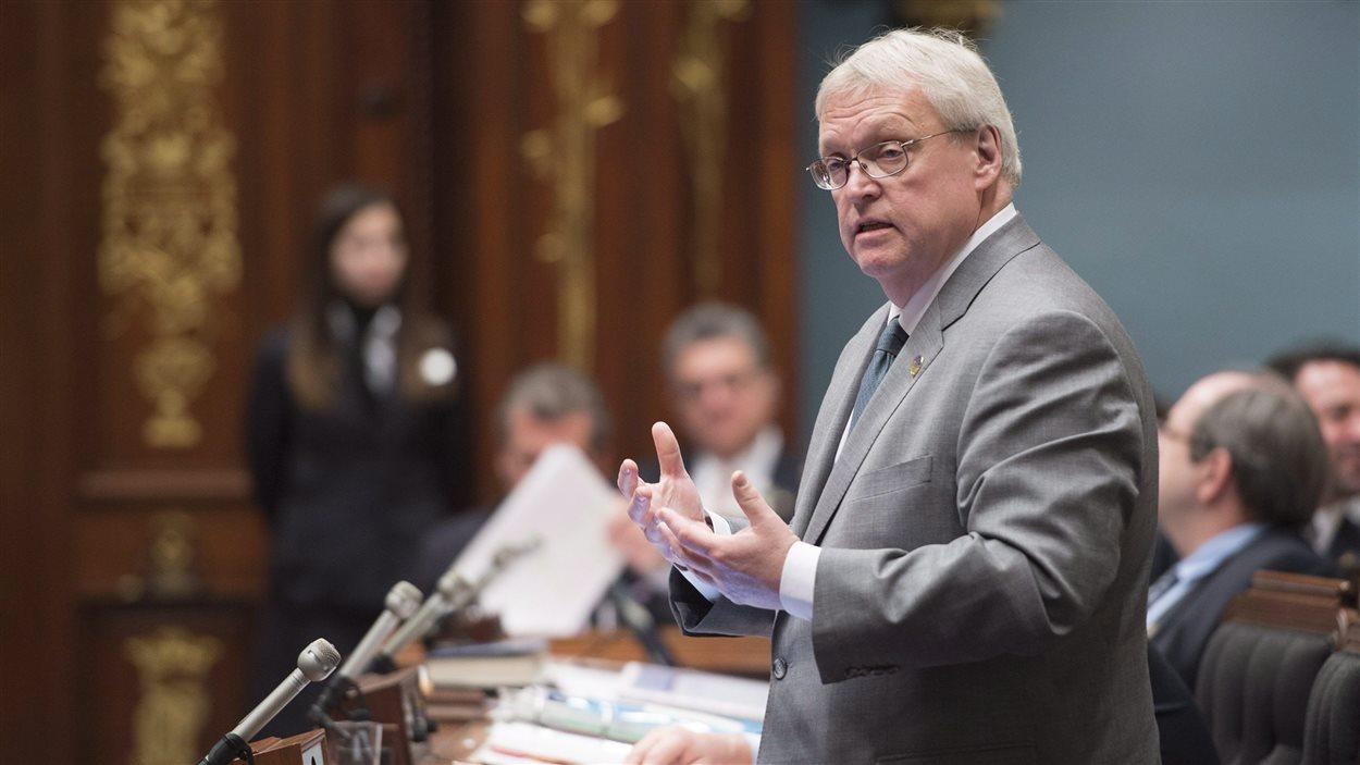 Gaétan Barrette, ministre de la Santé et des Services sociaux du Québec