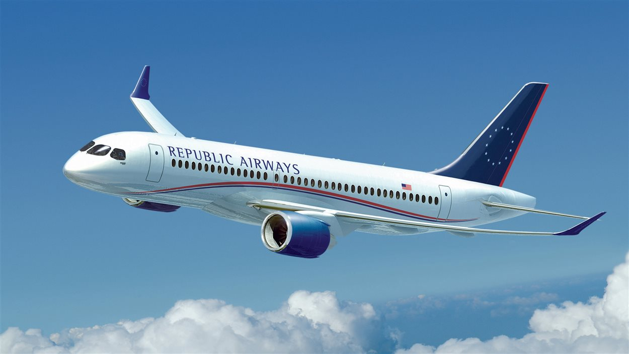 Un avion de Republic Airways Holdings