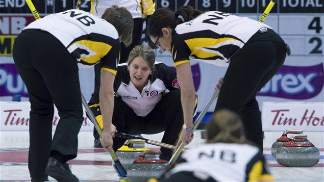 L'équipe du Nouveau-Brunswick devra se qualifier pour avoir une place au Tournoi des coeurs en 2017
