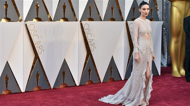 L'actrice Rooney Mara