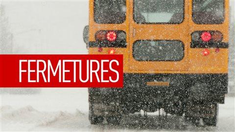 Fermetures des routes et des écoles au Manitoba
