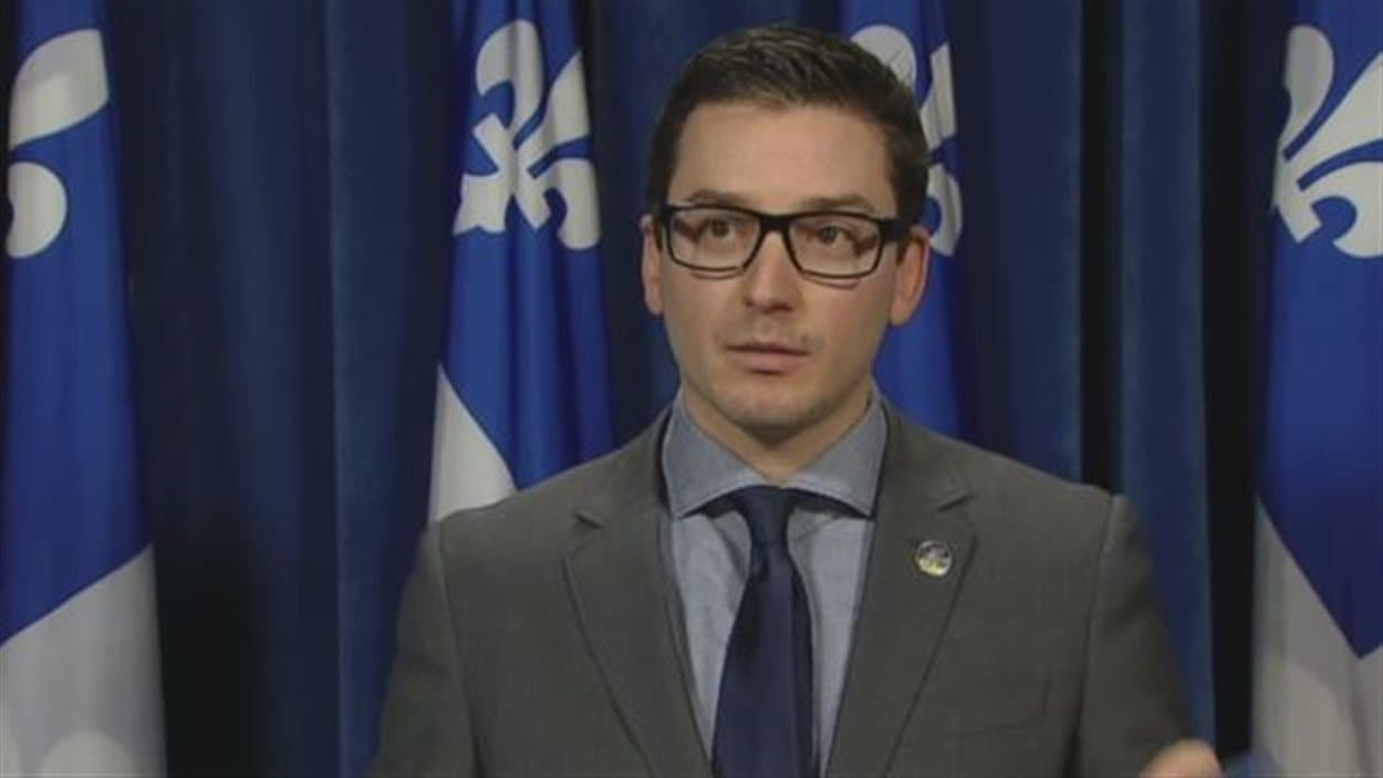 Le député Simon Jolin-Barrette