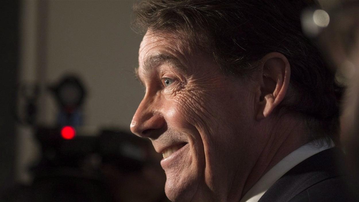 Le chef du Parti québécois, Pierre Karl Péladeau