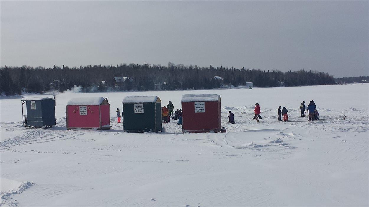 Activité d'initiation à la pêche blanche