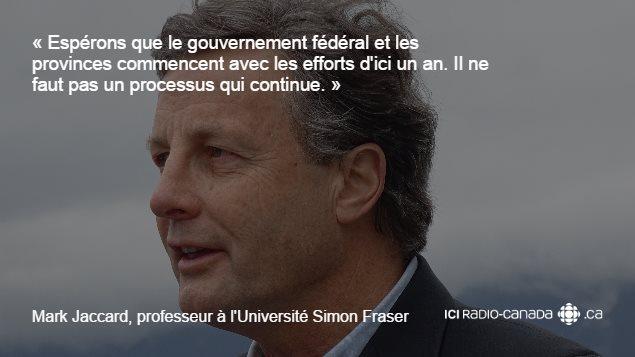 Mark Jaccard, professeur à l'Université Simon Fraser.